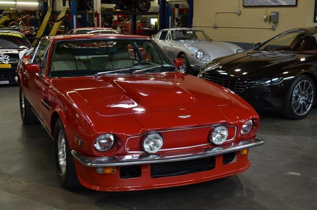 1978 Aston Martin V8 VANTAGE COUPE (RARE MOLDED FLIP TAIL 1 OF 26 LHD) For Sale