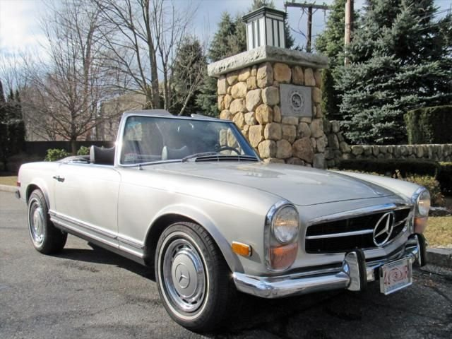 1971 Mercedes Benz 280sl For Sale 156717 Motorious