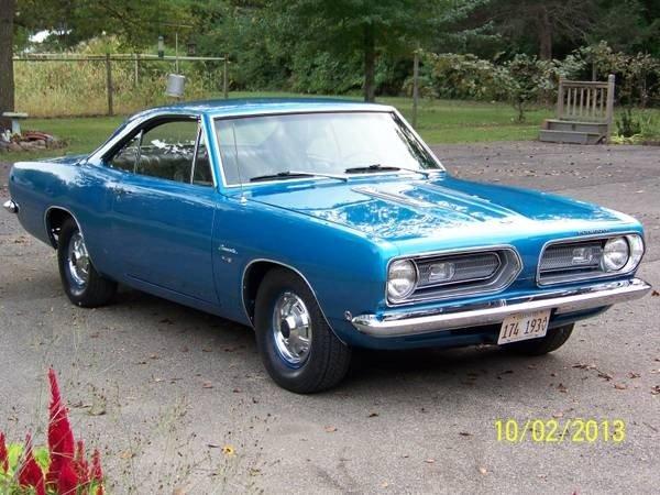1968 Plymouth Barracuda/Cuda for sale #114445 | Motorious