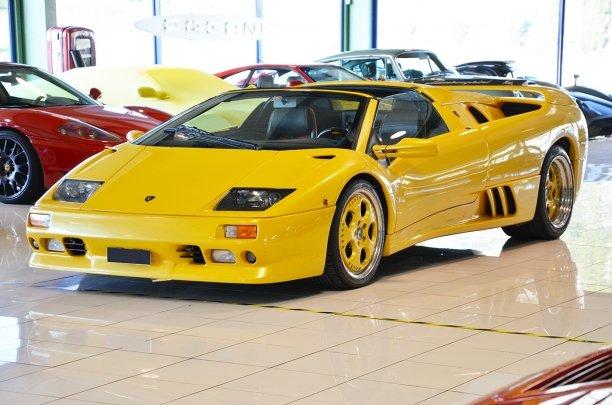 1999 Lamborghini Diablo Sv Roadster For Sale 116797 Motorious