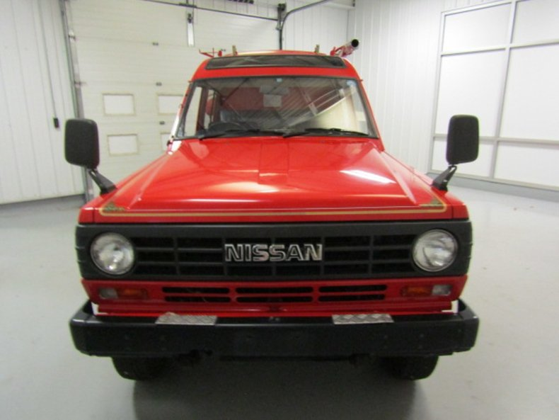 1986 Nissan Safari 4WD Firetruck for sale #117263 | Motorious