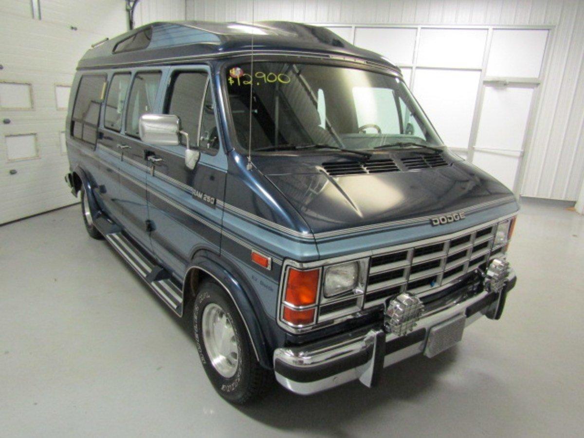 1991 Dodge Ram 250 R V  Shuttle Van Extended for sale