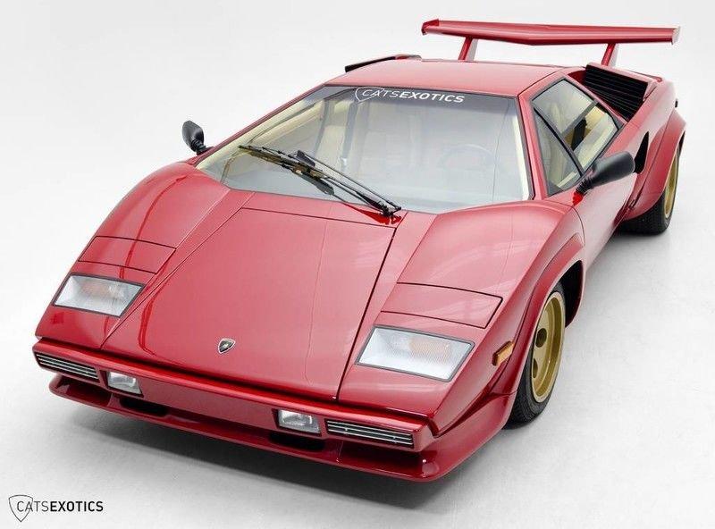 1983 Lamborghini Countach For Sale 118535 Motorious