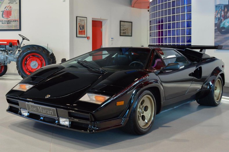 1987 Lamborghini Countach For Sale 122132 Motorious