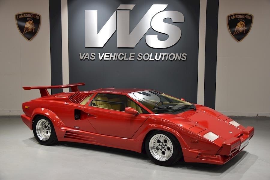 1990 Lamborghini Countach For Sale 122603 Motorious