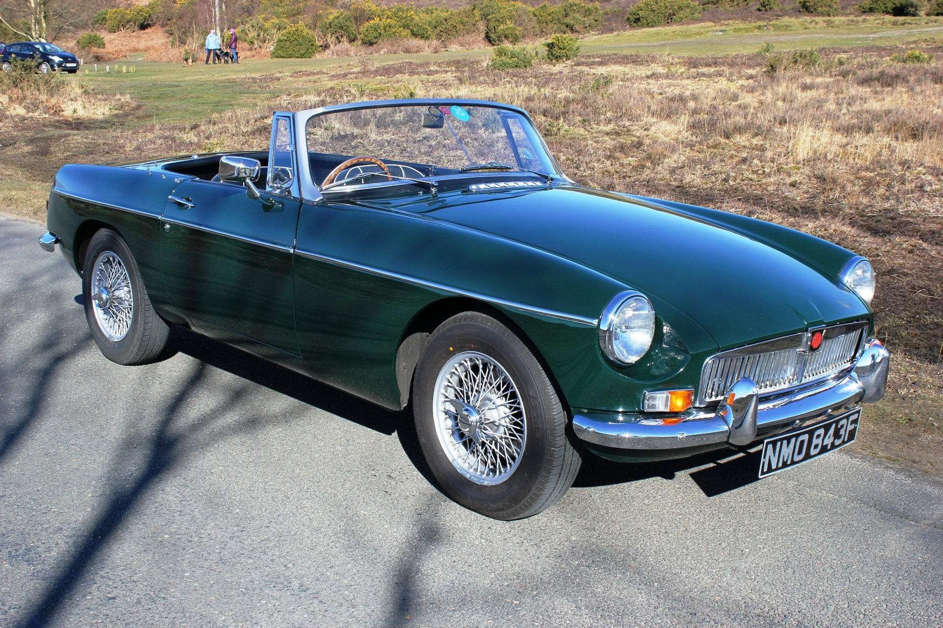 1967 MGB Roadster with Heritage Shell for sale #122943