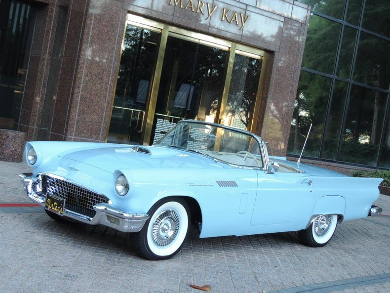 1957 Ford Thunderbird For Sale 124294 Motorious