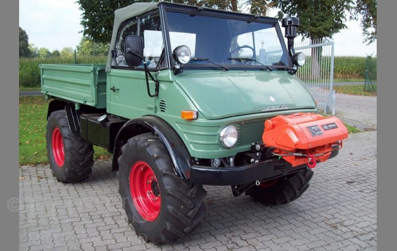 1970 Mercedes-Benz UNIMOG U80 406 for sale #128355 | Motorious