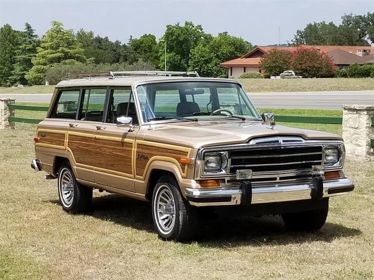 Jeep Wagoneer For Sale >> 1990 Jeep Wagoneer For Sale 130592 Motorious