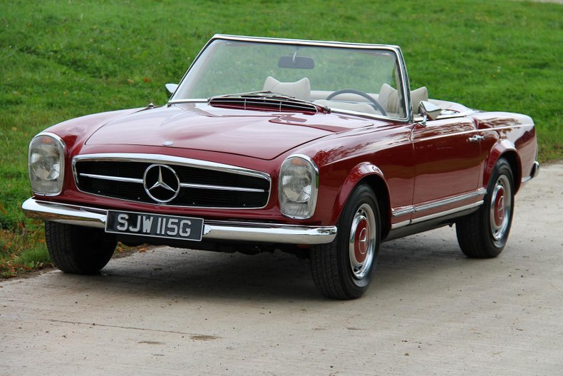 1969 Mercedes Benz 280sl For Sale 131427 Motorious