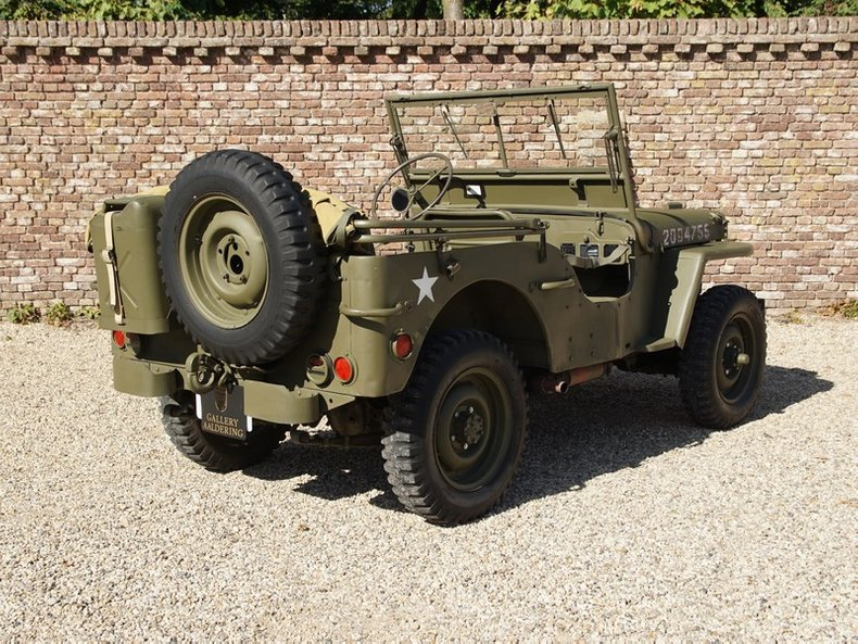 1943 Ford GPW 'GENERAL PURPOSE WILLYS' 1943 (1943) for sale #133326