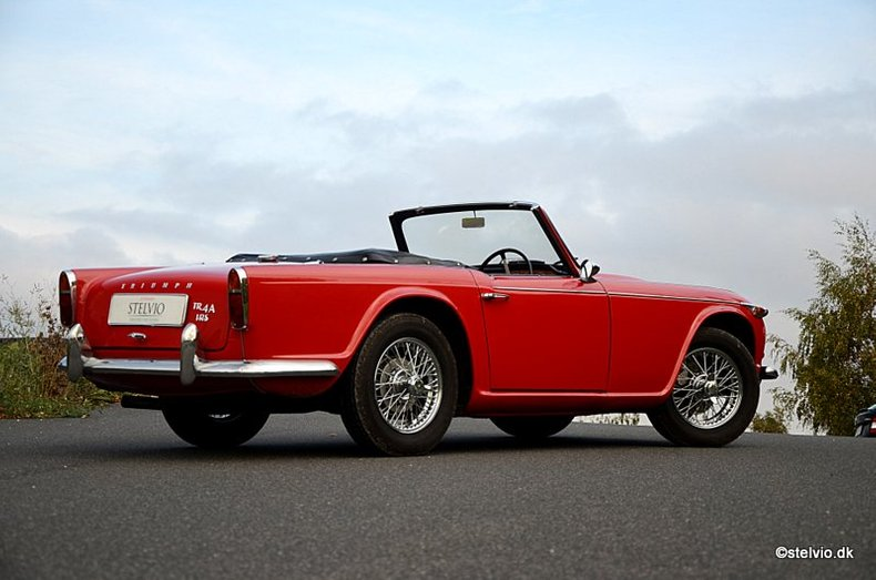 1965 Triumph TR4A IRS for sale #52555 | Motorious
