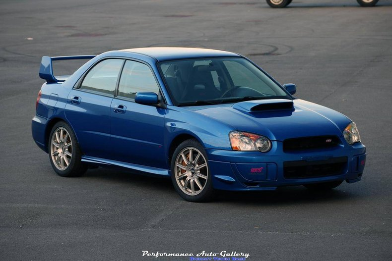 Sti For Sale >> 2004 Subaru Impreza Wrx Sti For Sale 138468 Motorious