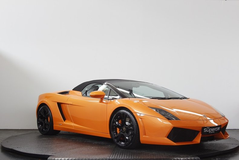 2009 Lamborghini Gallardo Lp560 4 Spyder For Sale 142961 Motorious