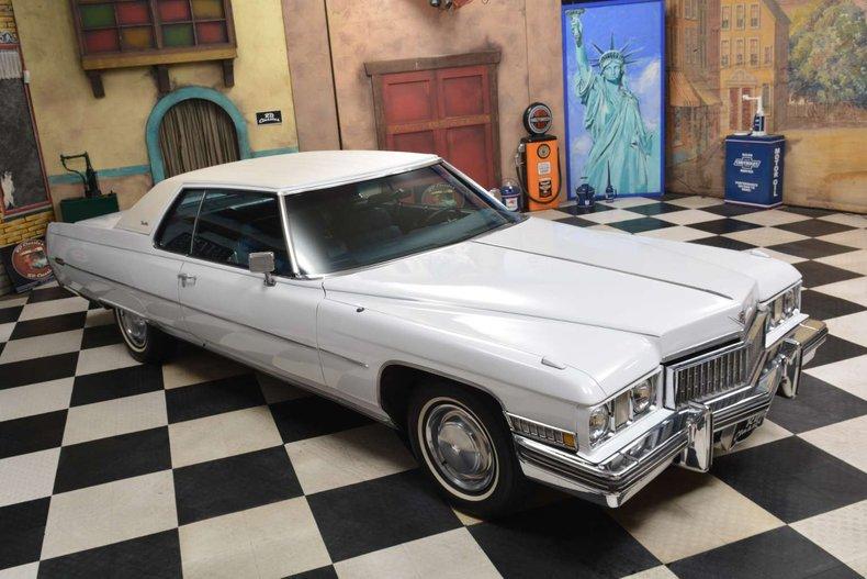 1973 Cadillac Deville Coupe 2D For Sale
