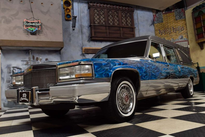 1991 Cadillac Deville Hearse for sale #143792 | Motorious