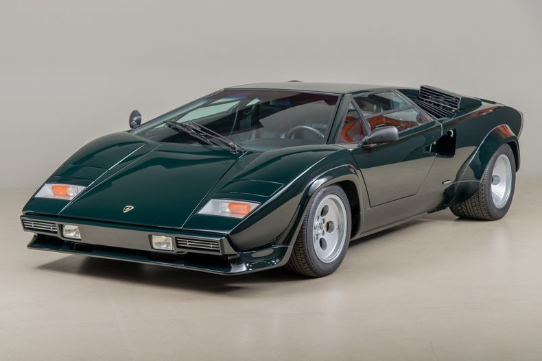 1986 Lamborghini Countach Lp5000 Quattrovalvole For Sale 144733