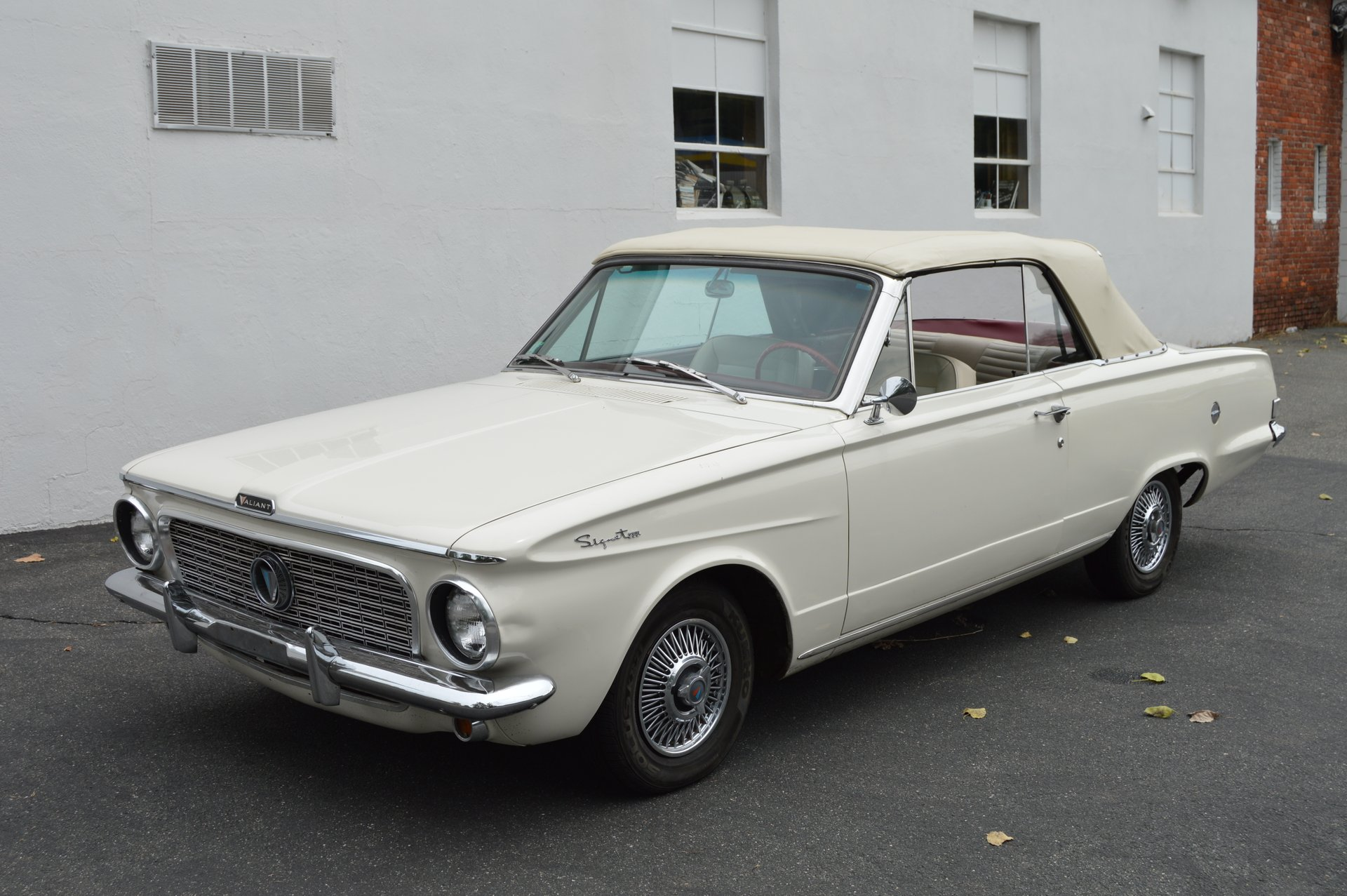 1963 plymouth valiant sprint 200