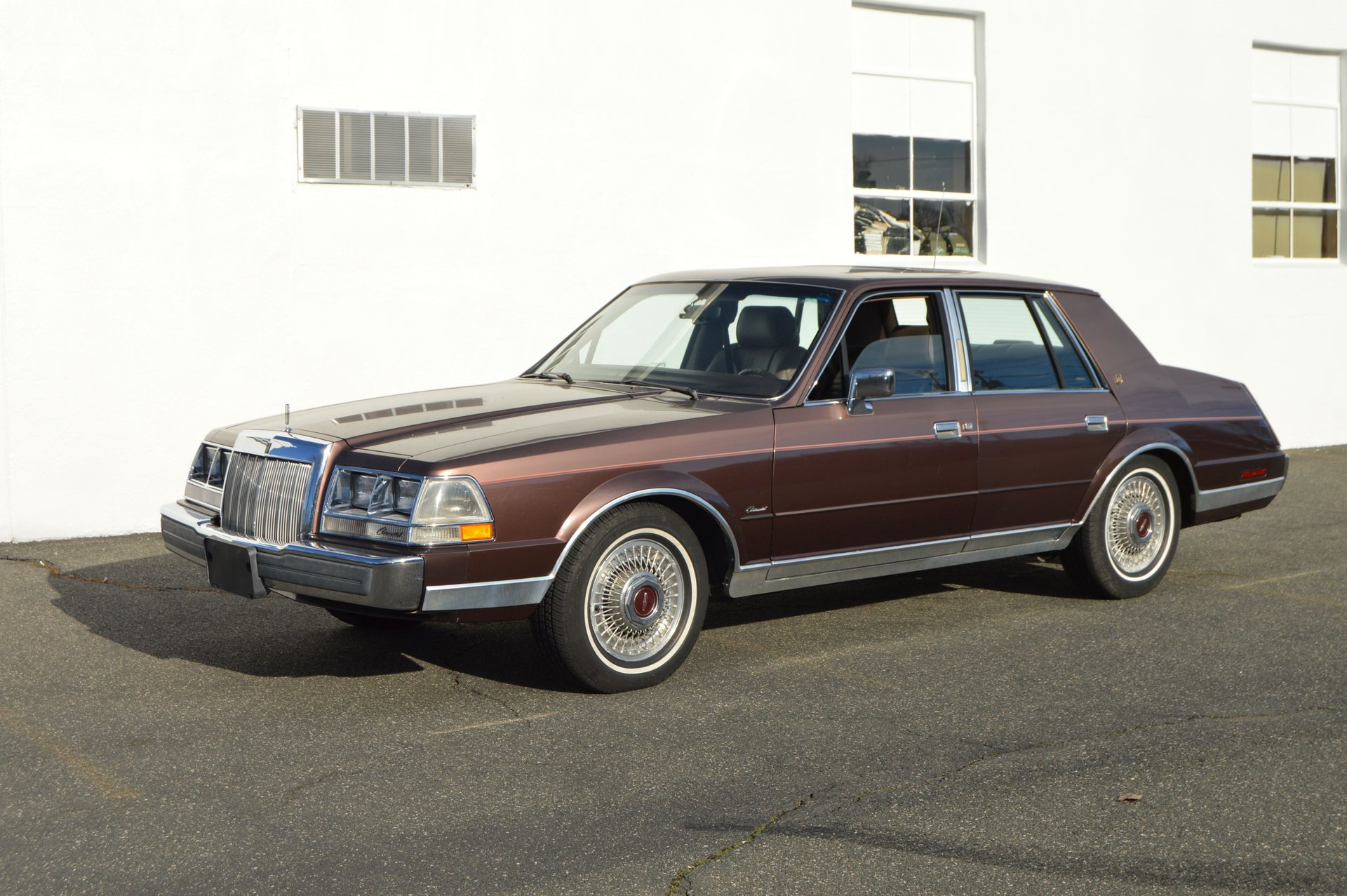 1987 lincoln continental givenchy designer series