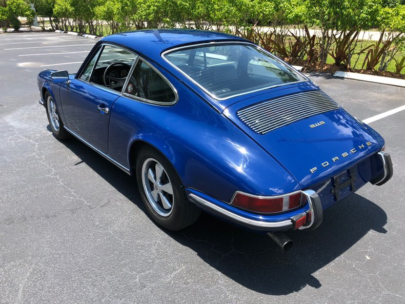 1970 Porsche 911S California Salvage Title