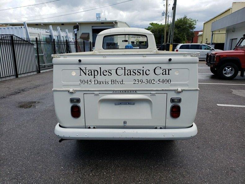 For Sale 1968 Volkswagen Kombi Truck