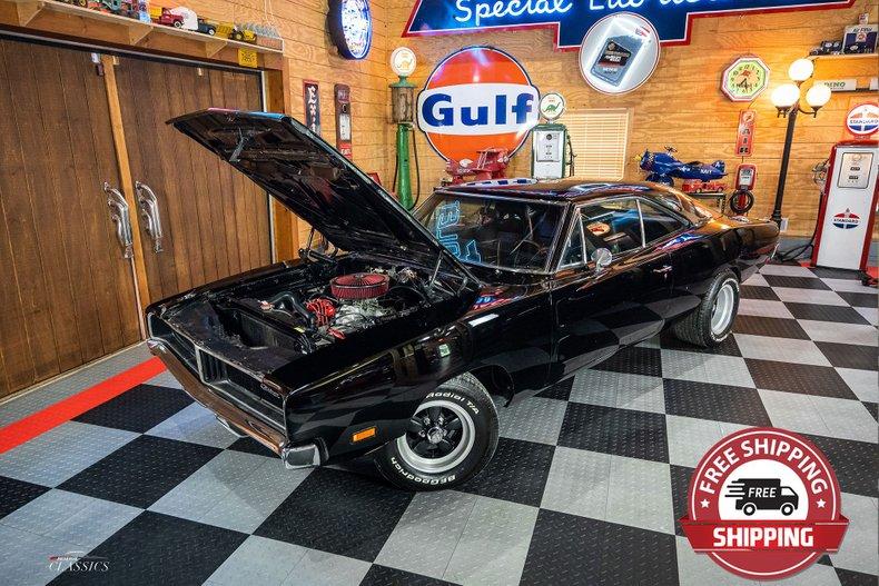 1969 Dodge Charger 383 Big Block Restomod For Sale 204972 Motorious