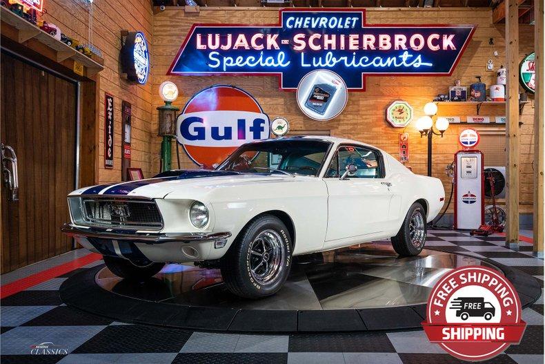 1968 Ford Mustang 390 Fastback Restomod