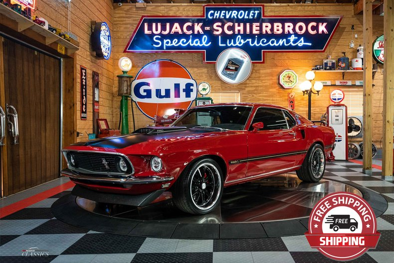 1969 Ford Mustang Mach 1 392 Pro-Touring