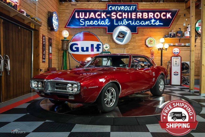 1967 Pontiac Firebird 461 Restomod