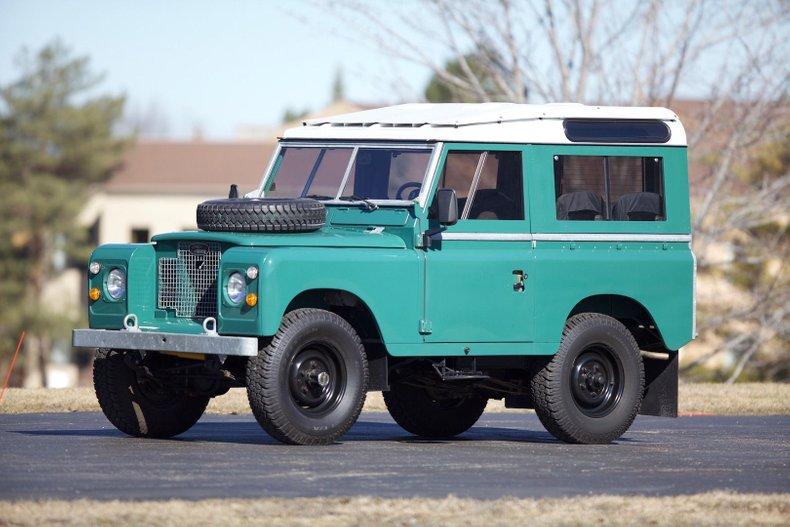1963 Land Rover