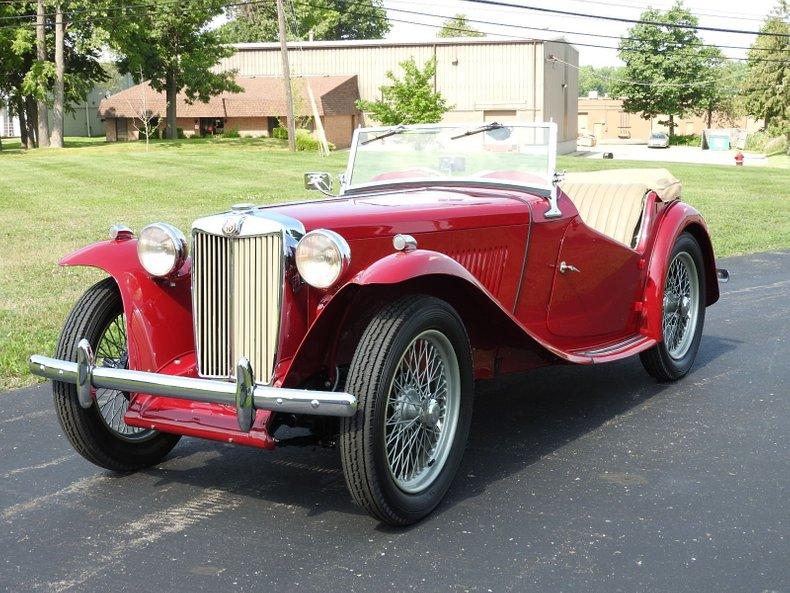 1949 MGTC Roadster