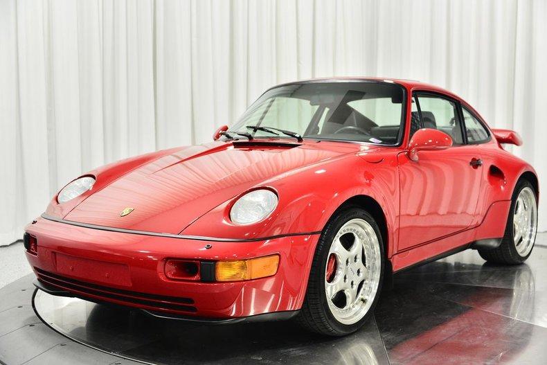 1994 Porsche 911 Turbo S Flachbau