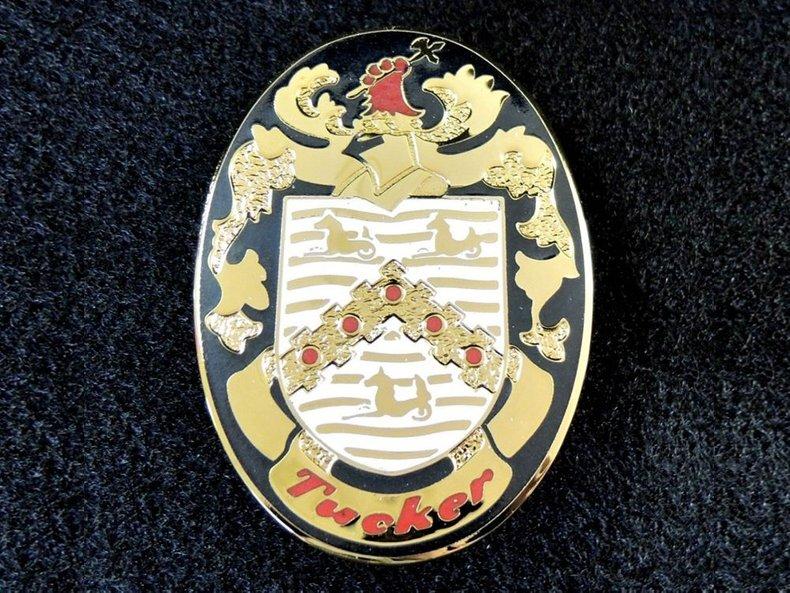 Tucker Crest Emblem