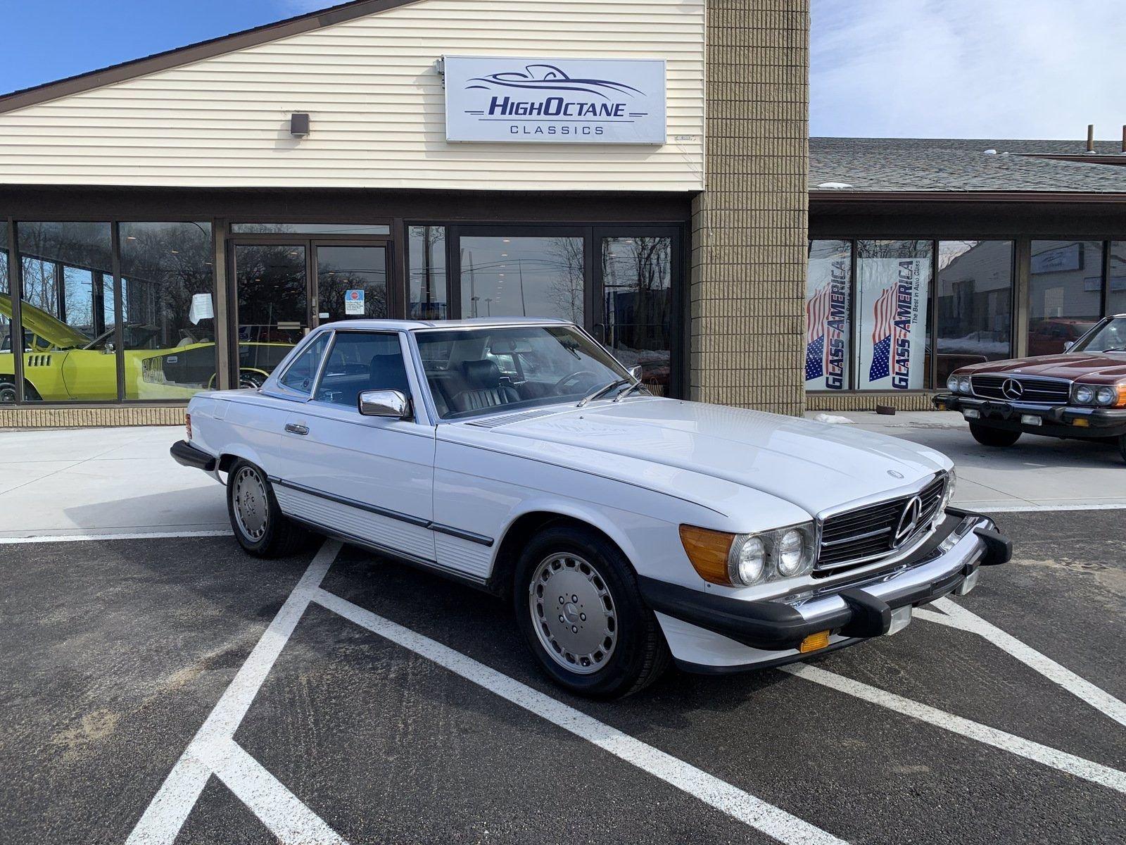 1987 mercedes 560 SL