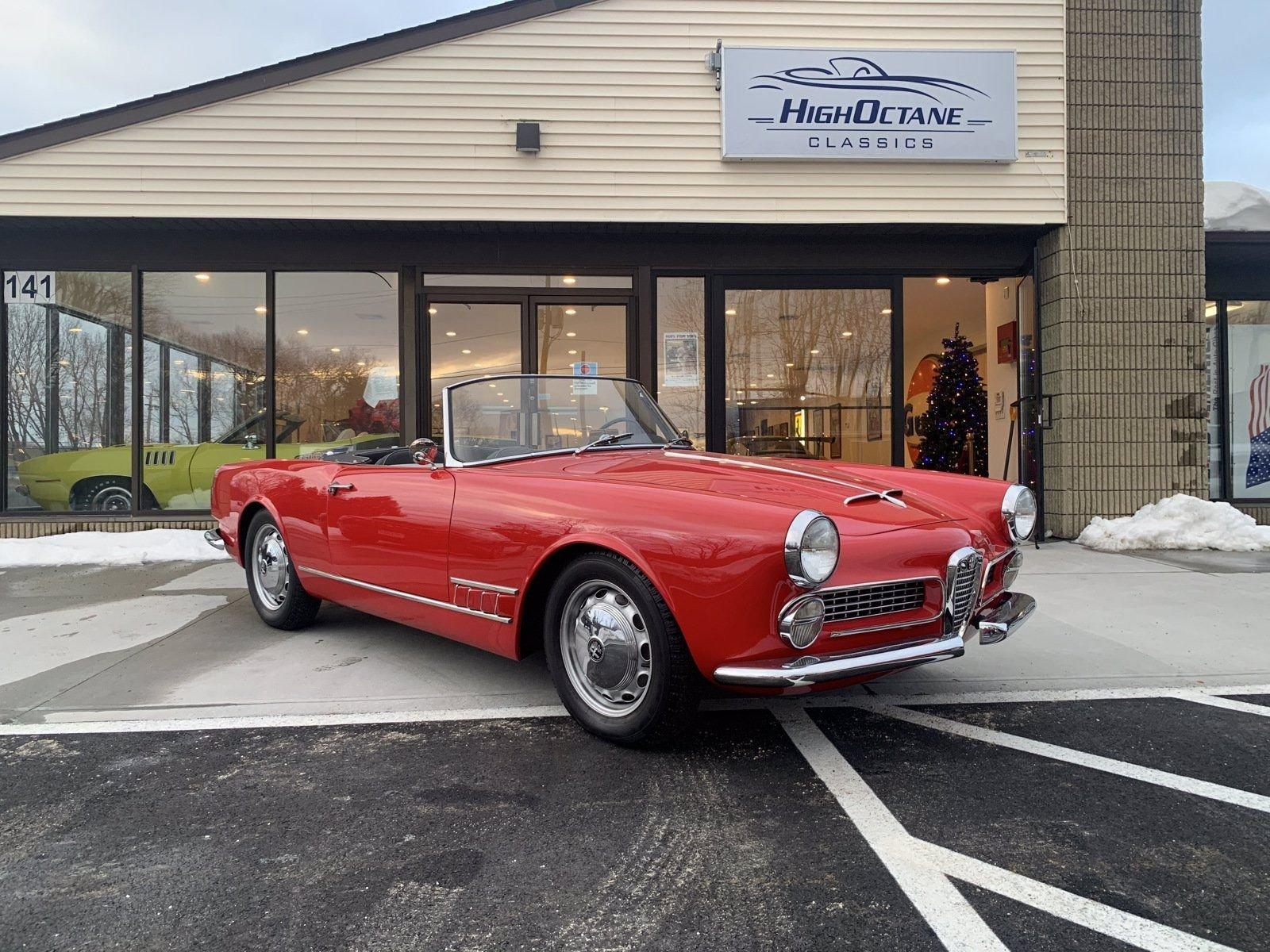 1959 Alfa Spider