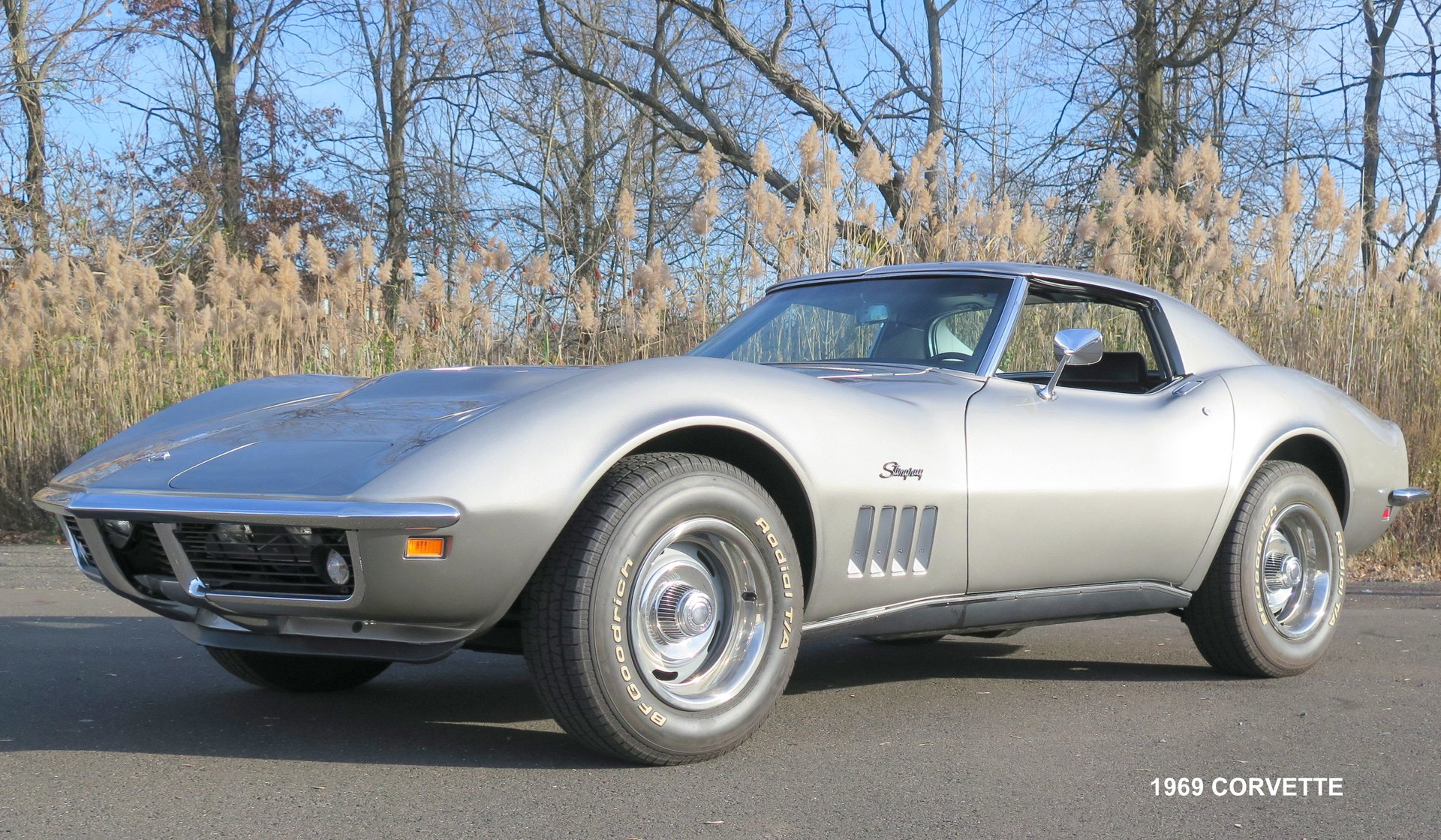 1969 chevrolet corvette stingray 383 m21 4 speed manual trans