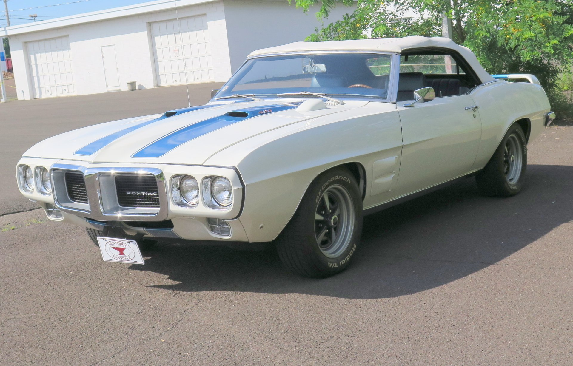 1969 Pontiac Firebird | OLD FORGE MOTORCARS INC