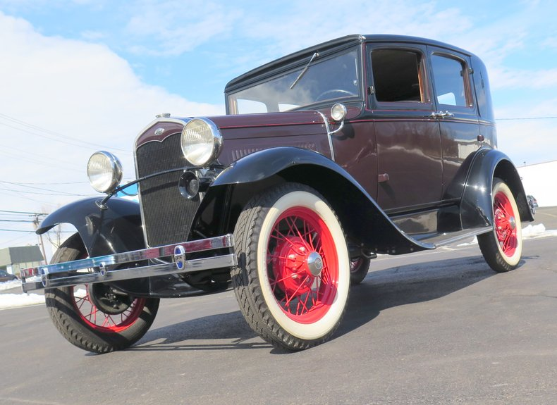 1931 Ford Model A Fordor Two Window