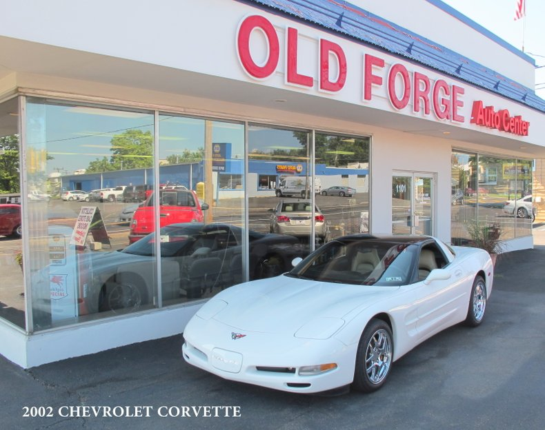 2002 Chevrolet Corvette