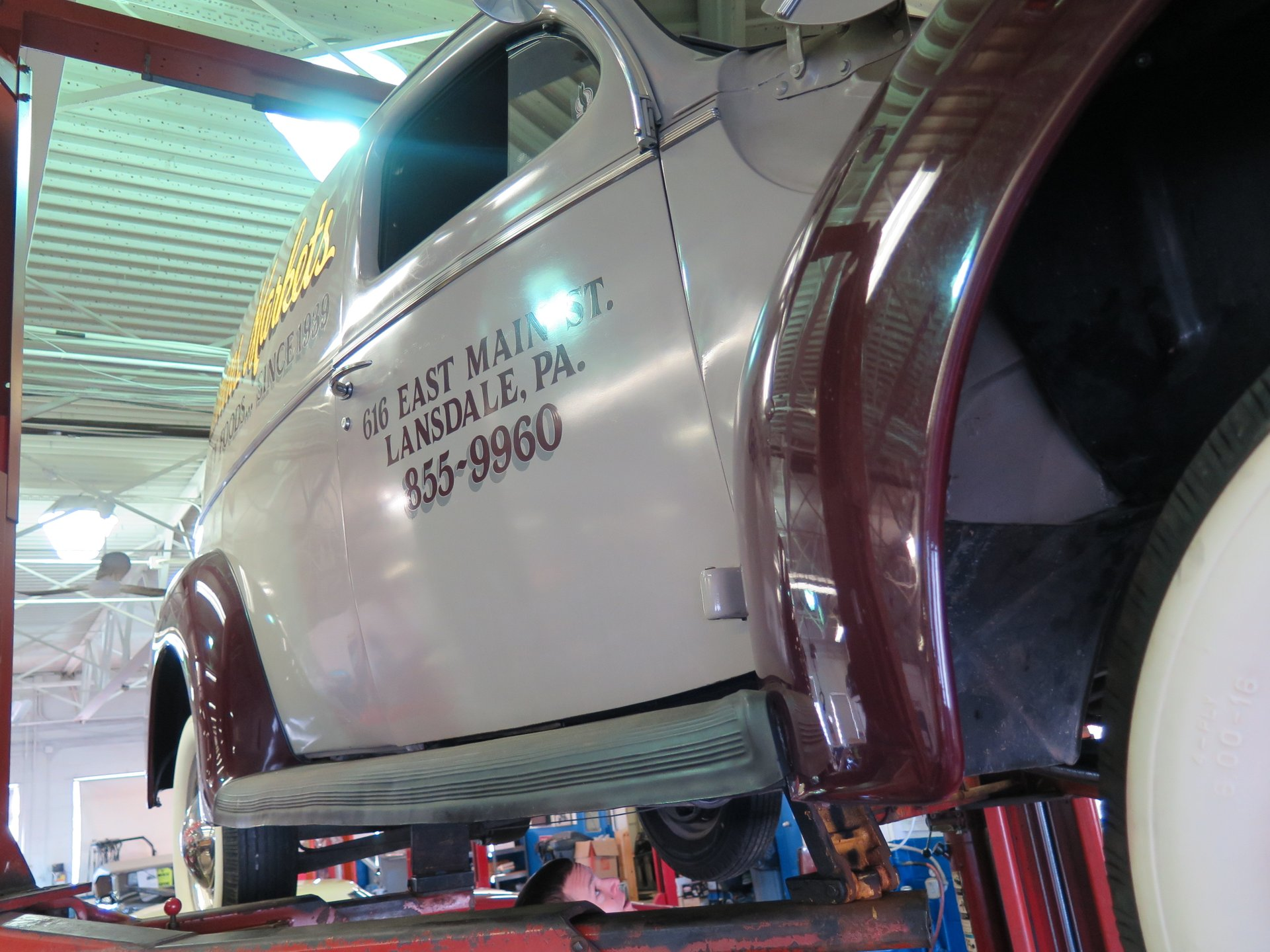 1940 Ford Sedan Delivery | OLD FORGE MOTORCARS INC