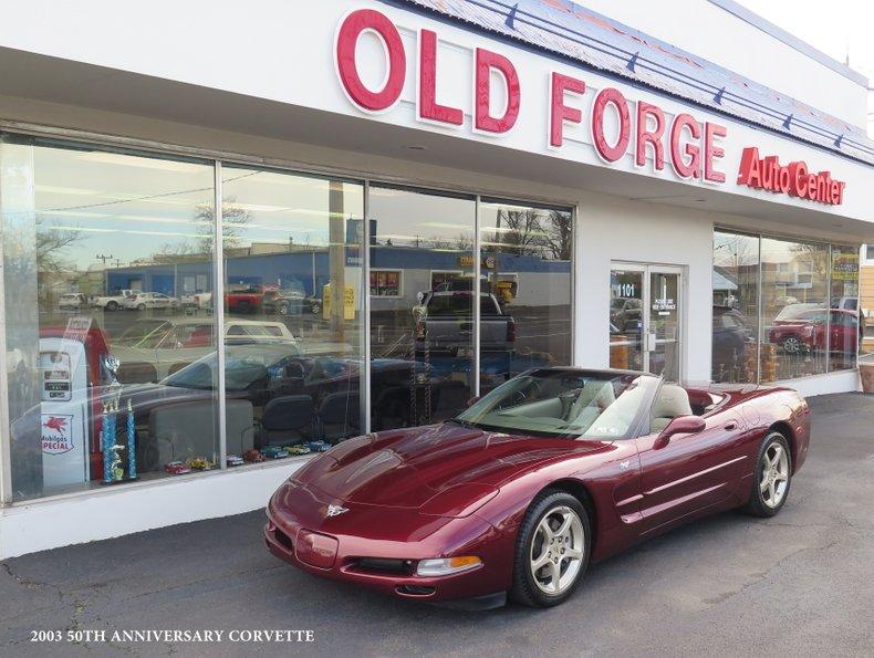 2003 Chevrolet 50th Anniversary Corvette For Sale