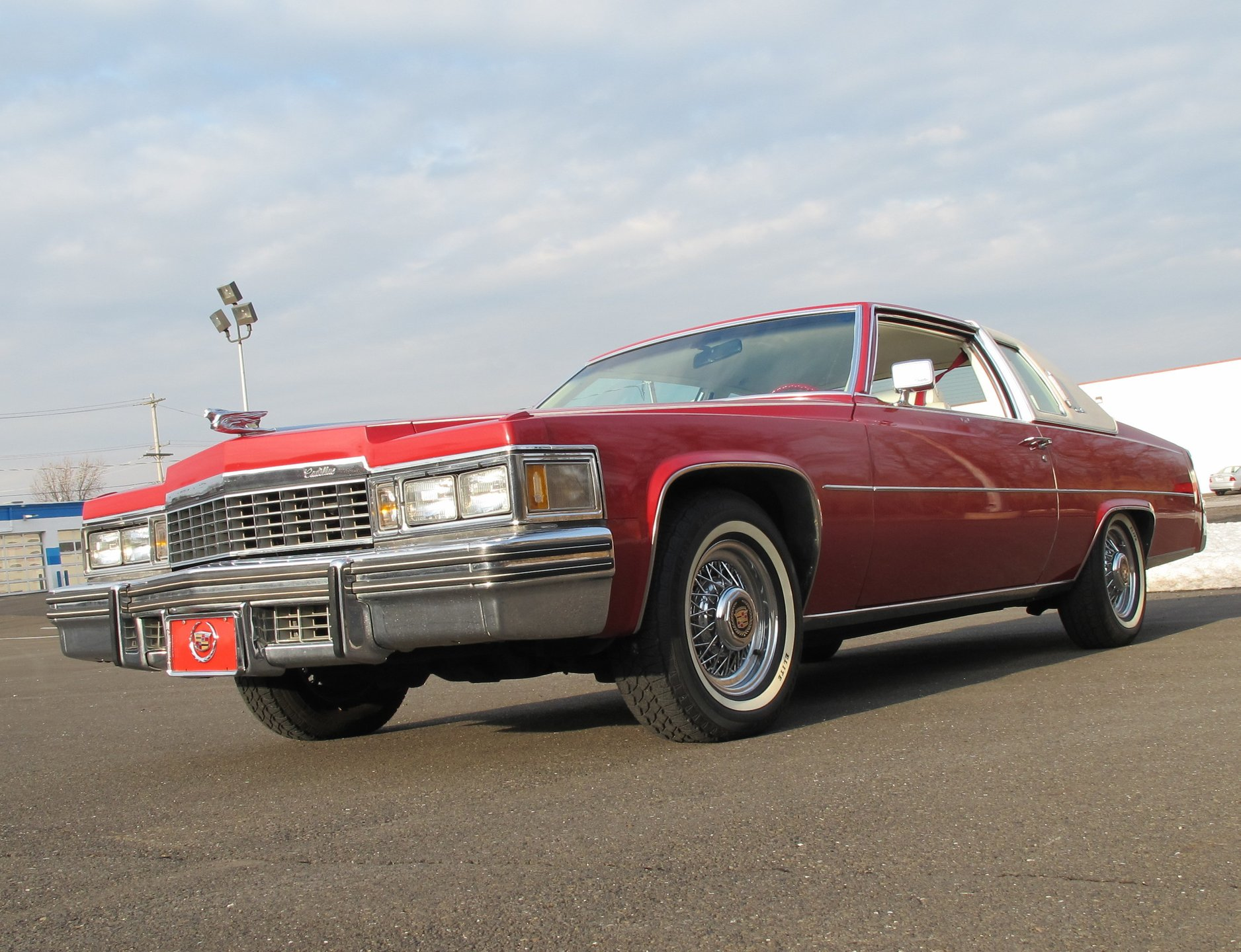1977 Cadillac Coupe DeVille | OLD FORGE MOTORCARS INC