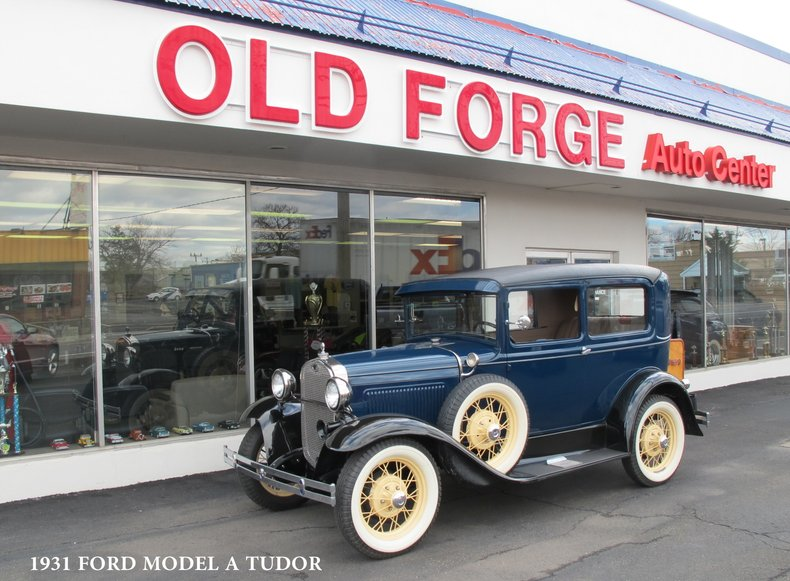 1931 Ford Model A Tudor For Sale