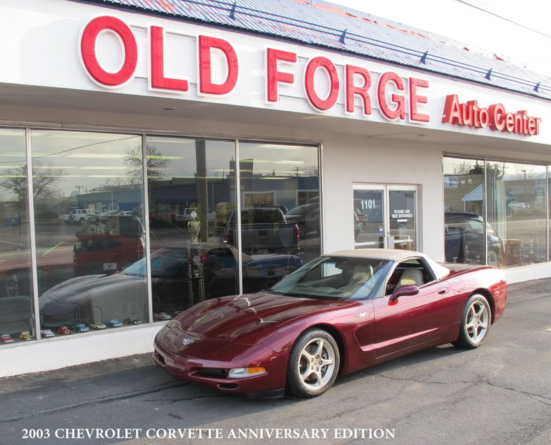 2003 Chevrolet 50th Anniversary Corvette For Sale