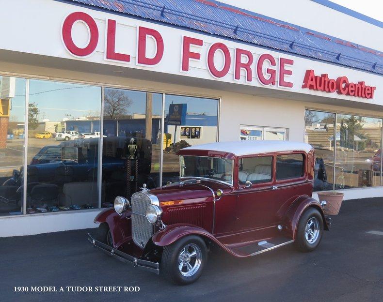 1930 Ford Model A Tudor Hot Rod For Sale