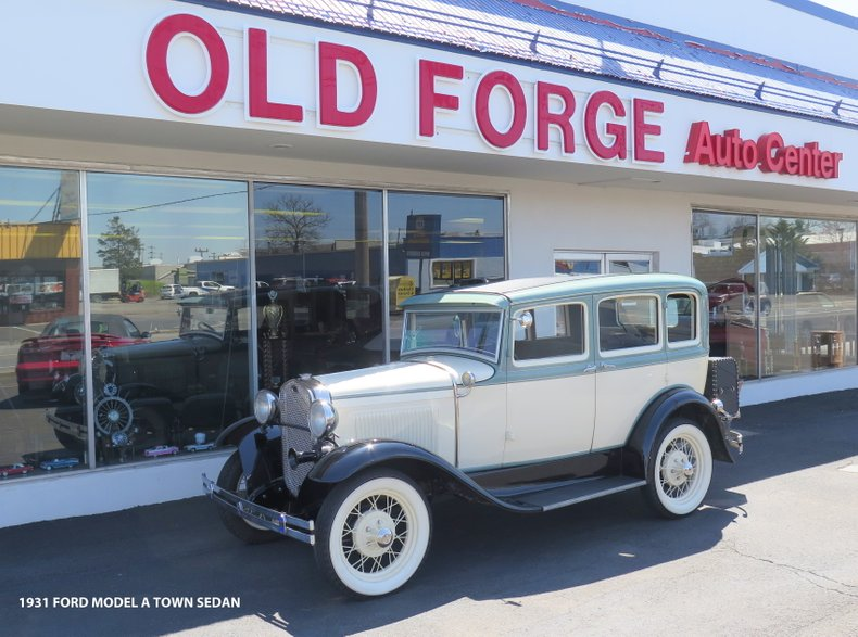 1931 Ford Model A Town Sedan For Sale