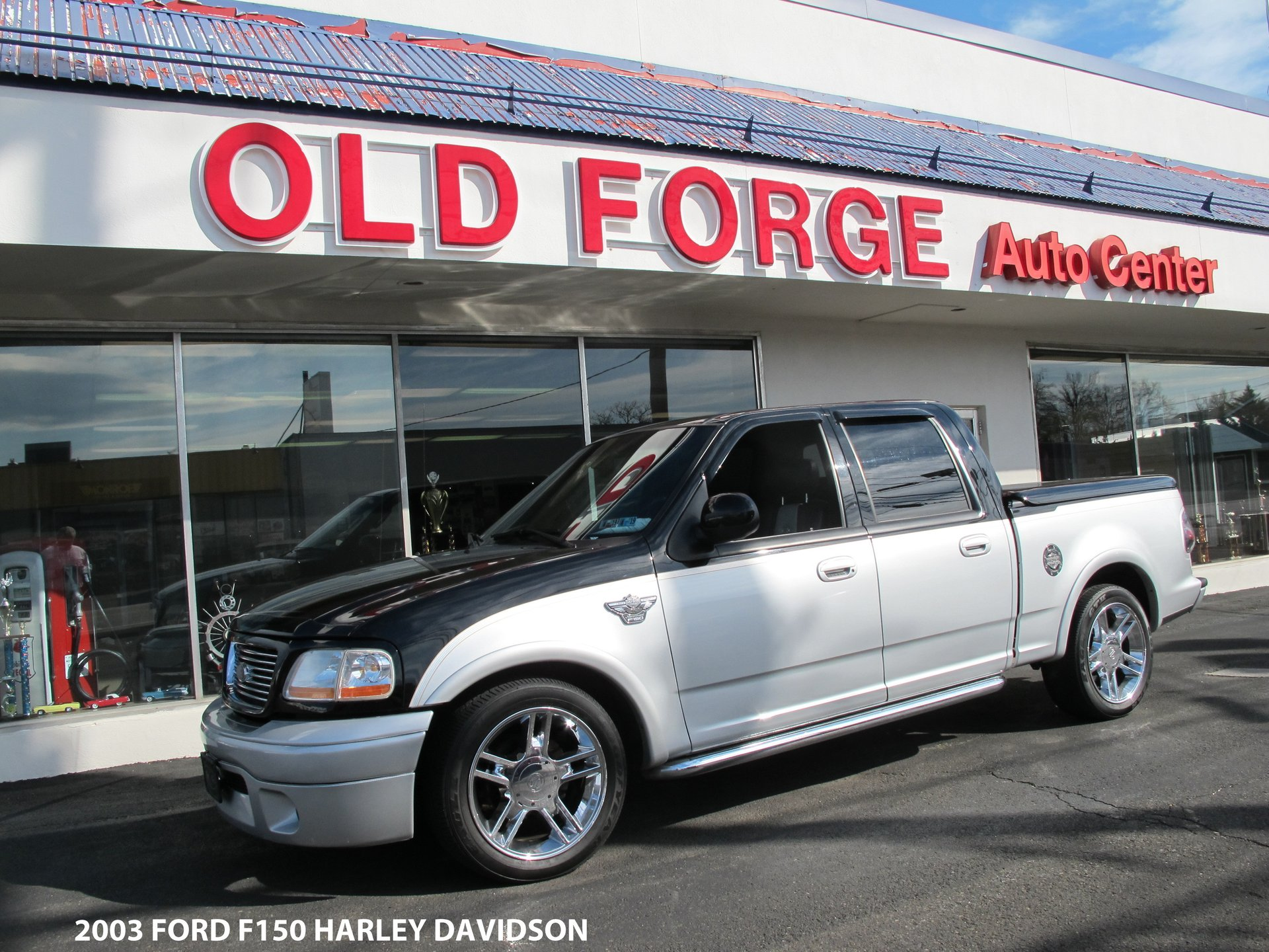 2003 Ford F150 Harley Davidson Old Forge Motorcars Inc Sold Thank You William From Pa