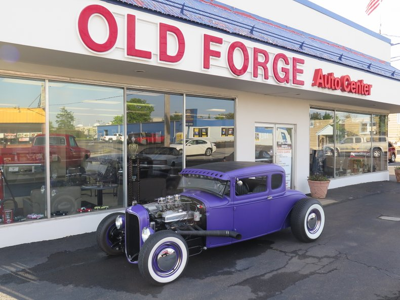 1930 Ford model a 5 window coupe For Sale