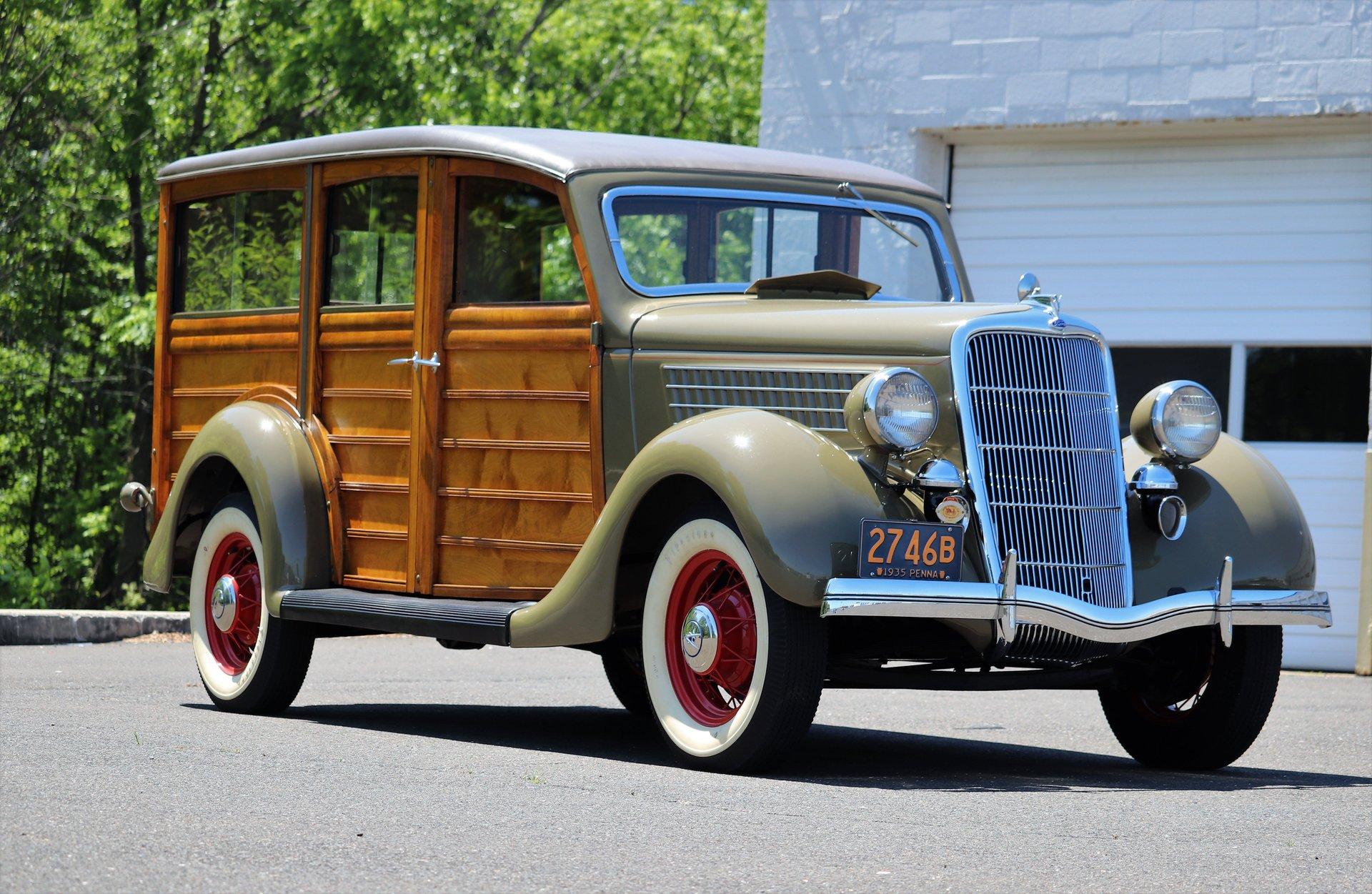 1935 ford woodie wagon