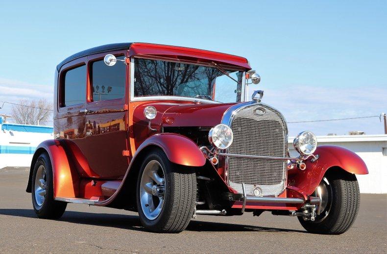 1929 Ford Model A Tudor Hot Rod